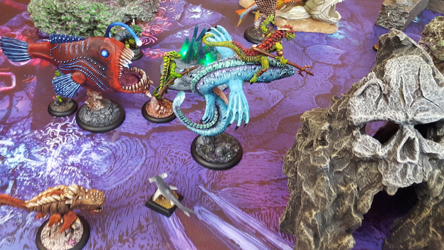 DeepWars video battle report #8 – Dark Mariners vs. Scaly Horde